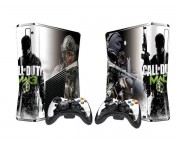 XBOX 360 Slim Call of Duty Modern Warfare 3 Vinyl Skin [Pacers Skin, BOX1015-101]