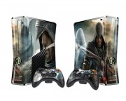 XBOX 360 Slim Assassin's Creed - Brotherhood Vinyl Skin [Pacers Skin, BOX1015-102]