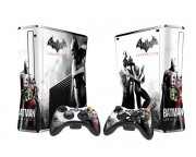 XBOX 360 Slim Batman Arkham City Vinyl Skin [Pacers Skin, BOX1015-104]