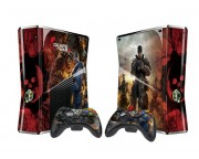 XBOX 360 Slim Gears of War 3 Vinyl Skin [Pacers Skin, BOX1015-105]