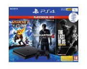 PlayStation 4 Slim 1TB HITS bundle (PS4)