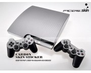 Playstation 3 Slim Carbon Skin [Pacers Skin, PS31030-S]