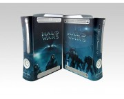 XBOX 360 Fat Halo Wars Crystal Skin [Pacers Skin, BOX0832-31]