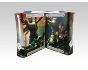 XBOX 360 Fat Resident Evil 5 Crystal Skin [Pacers Skin, BOX0832-33]
