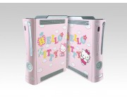 XBOX 360 Fat Hello Kitty Crystal Skin [Pacers Skin, BOX0832-41]