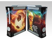 XBOX 360 Fat FIFA World Cup 2010 Crystal Skin [Pacers Skin, BOX0832-47]