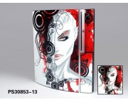 Playstation 3 Fat Vinyl Skin [Pacers Skin, PS30853-13]