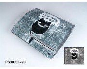 Playstation 3 Fat Vinyl Skin [Pacers Skin, PS30853-28]