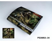 Playstation 3 Fat Vinyl Skin [Pacers Skin, PS30853-34]