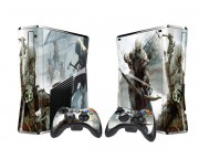 XBOX 360 Slim Assassin's Creed 3Vinyl Skin [Pacers Skin, BOX1015-129]